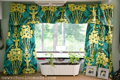 RV Remodel Curtains