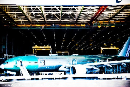 Boeing Factory Tour WA