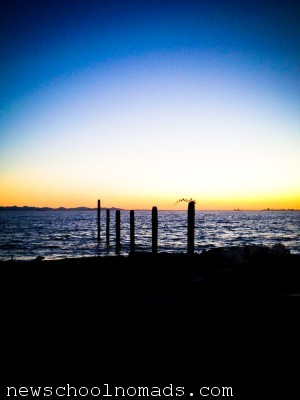 Sunset Point Roberts in Canada