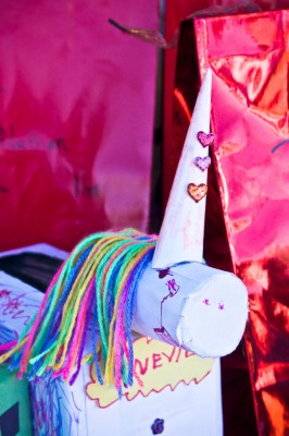 Unicorn Valentines Day Box FL