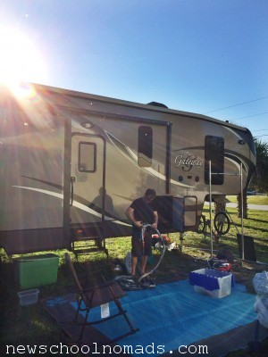 Cleaning Out the RV Week 4 FL