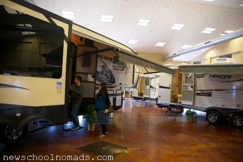 Dixie RV Showroom