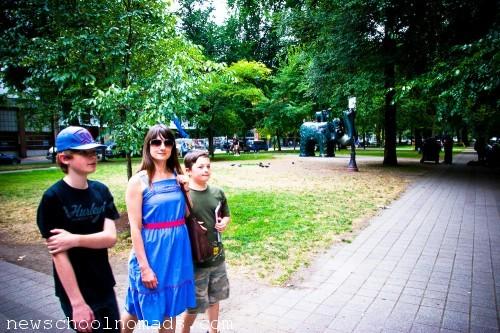Walking Portland OR