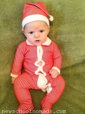 Thing 3 Week 10 Christmas Suit 3 IN
