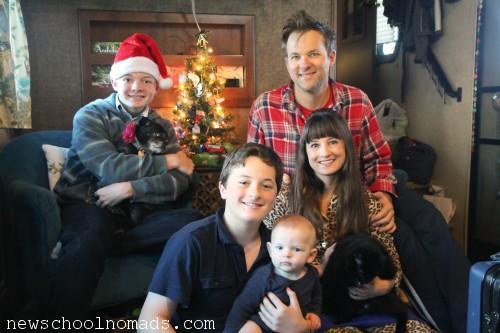 Family Christmas 4 2014 CA