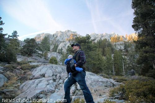 Brent THing 3 Hike Eagle Falls CA