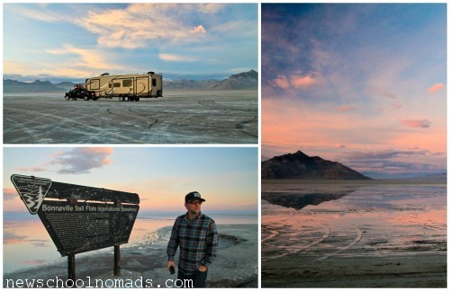 PicMonkey Collage Bonneville Salt Flats 2 UT