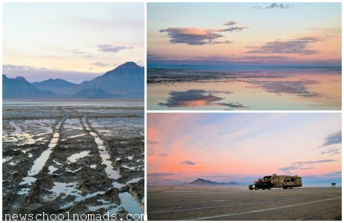 PicMonkey Collage Bonneville Salt Flats UT