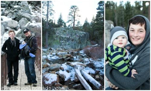 PicMonkey Collage Eagle Falls Hike CA