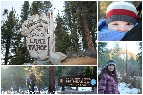 PicMonkey Collage Tahoe Hike CA