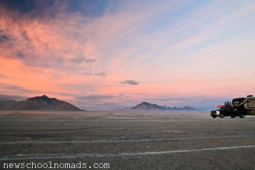 RV 4 Bonneville Salt Flats UT