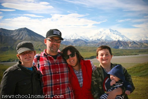 Family 2 Denali The Mountain Alaska