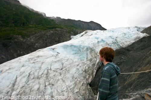 Thing 1 Exit Glacier Alaska
