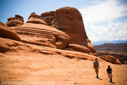 Hike to Delicate Arch Moab